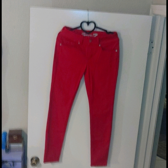 Seven7 pink skinny jeans size 6 like new